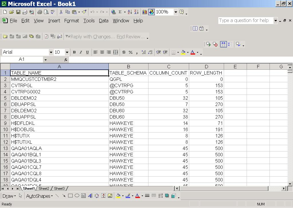 Making the Most of Excel Web Query