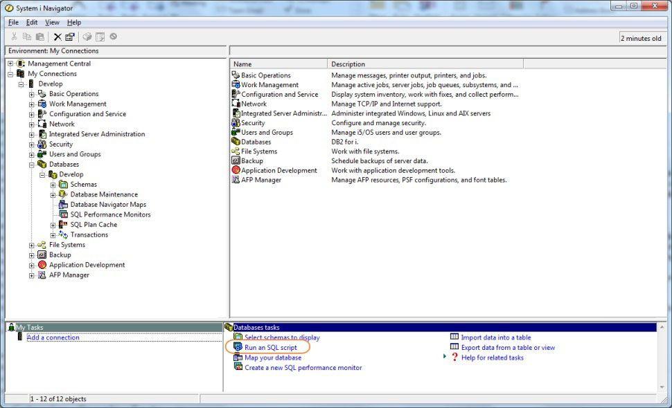 Sql 101 Tools Of The Trade I Navigators Run Sql Scripts Mc