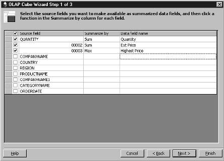 Crunching AS/400 Data with OLAP Cubes and Excel 2000