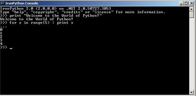 Iseries Python