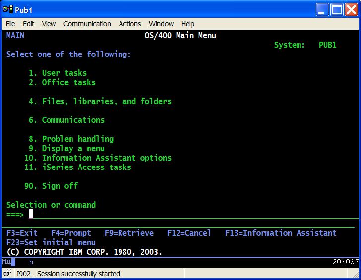 041709lennonfigure1png - As400 Computer System