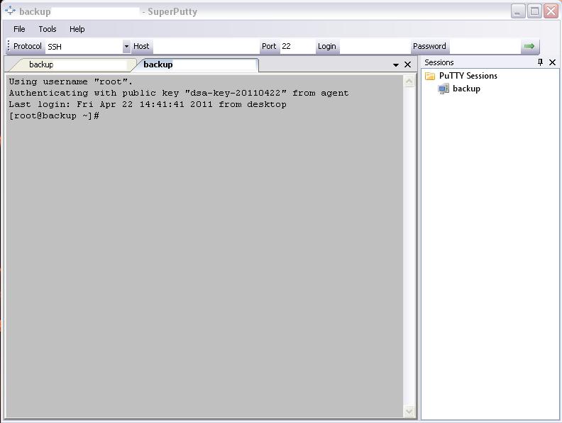 TechTip: SuperPutty, the Enhanced PuTTY SSH Client GUI