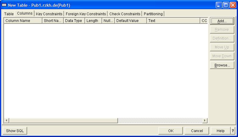 Prompted SQL DDL Creation