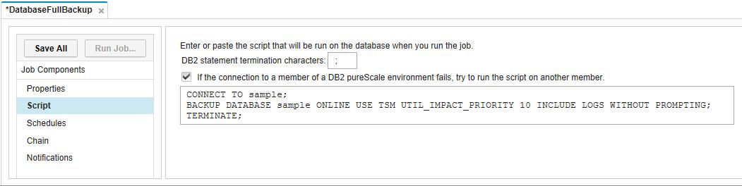 Scheduling Database Jobs with IBM Data Studio