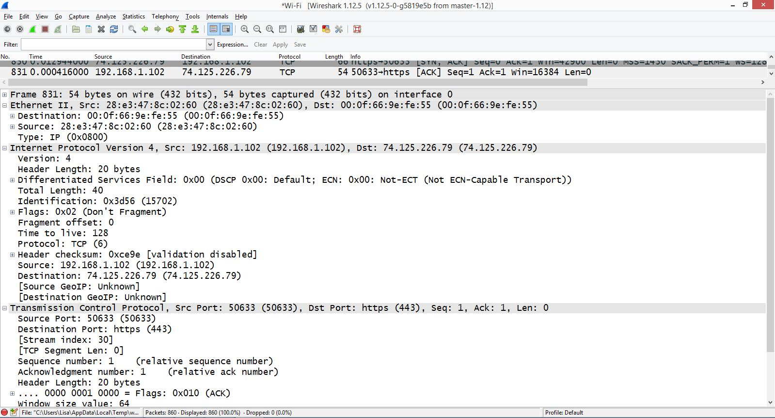 TechTip: Get Familiar with Wireshark, an Open-Source Packet