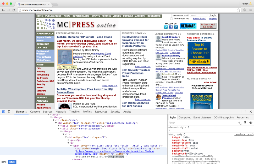 Chrome DevTools: The Indispensable Toolkit for Interrogating Web