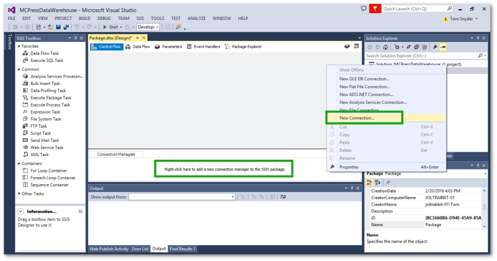 TechTip: SSIS Data Sources for IBM i DB2 and Microsoft SQL