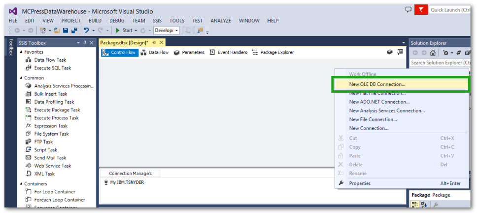 TechTip: SSIS Data Sources for IBM i DB2 and Microsoft SQL Databases