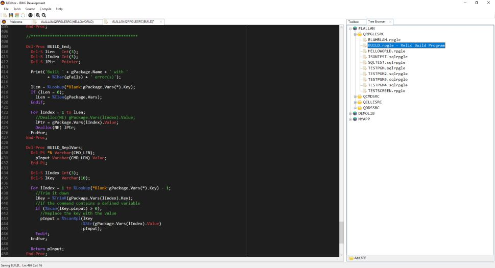 A New IDE for Your RPG