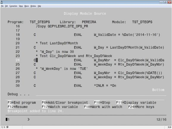 RPG Academy: Debug Done Right – A Step-by-Step Debug Session, Part 1 - Figure 2