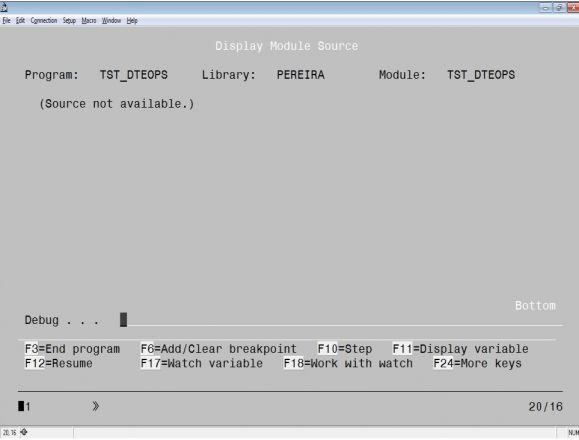 RPG Academy: Debug Done Right - Introducing the ILE Debugger - Figure 1
