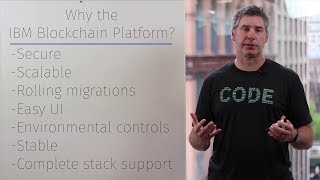 Blockchain 101: Why choose the IBM Blockchain Platform with Mark Parzygnat